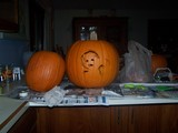 Our pumpkins.