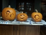 Our family pumkins.